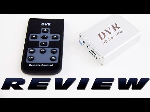 DutchRC - HobbyKing SD DVR (FPV video recorder) Review!