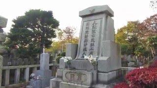 雑司ヶ谷霊園(東京都豊島区)