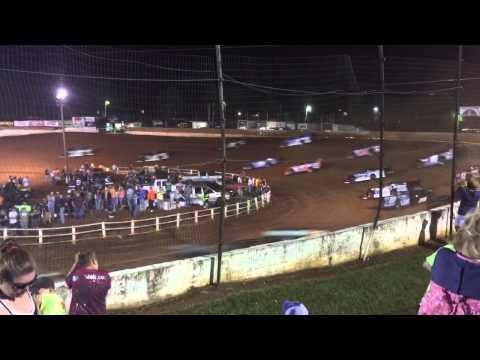 Earl Pearson Jr Tazewell Speedway Flip 2015