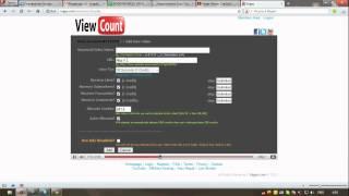View Count бесплатная накрутка просмотров на YouTube