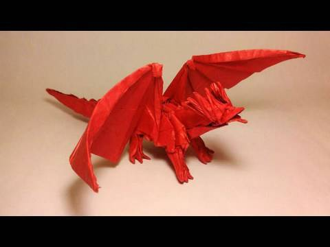 Ancient Dragon Origami Youtube
