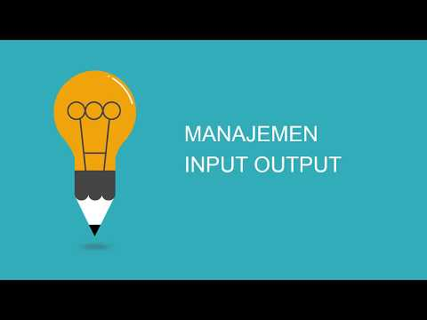 Manajemen Input Output (Simple Presentation)
