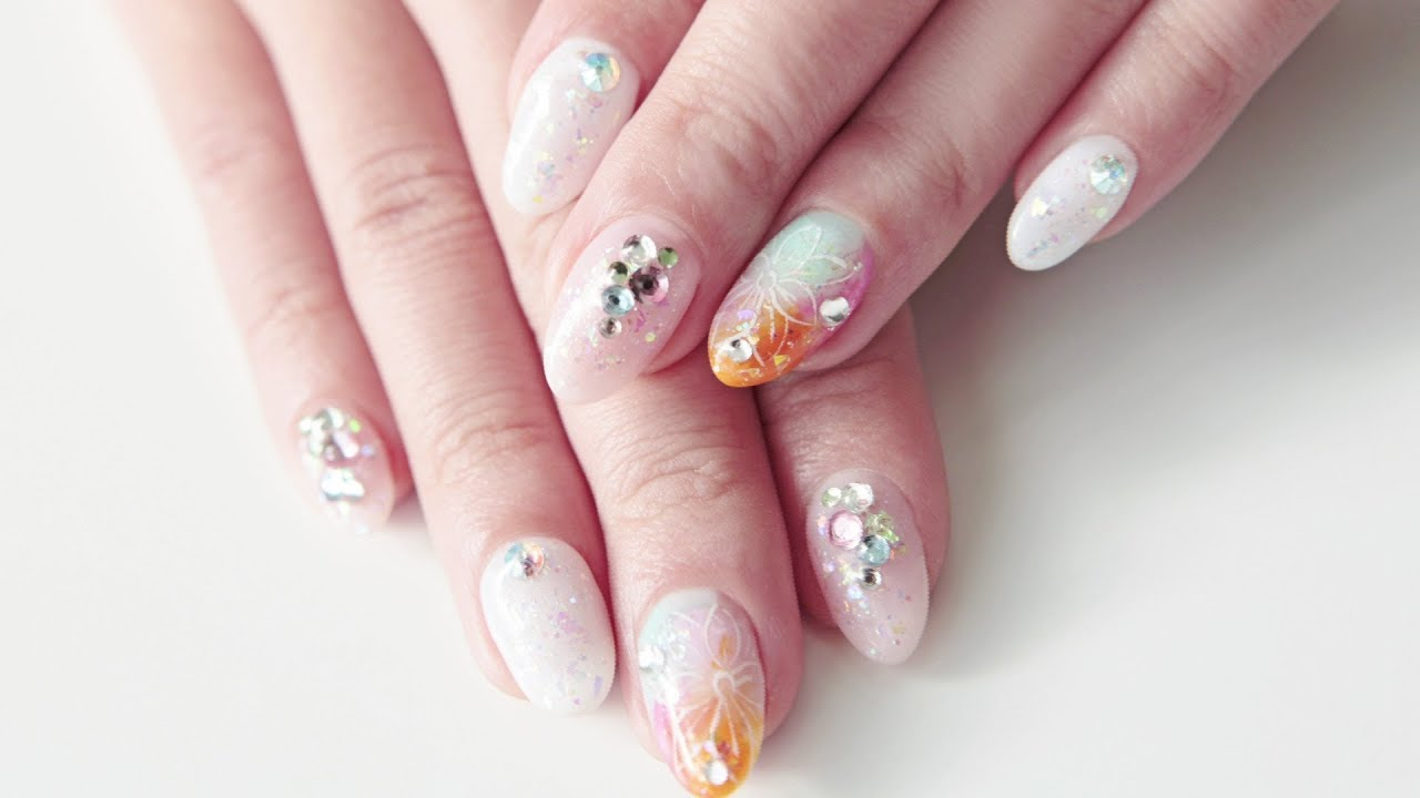 nail art japanese design