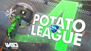 POTATO LEAGUE #4 | Rocket League Funny Moments & Fails