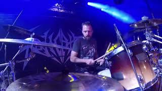 REVOCATION@Communion-Ash Pearson-Live in Brutal Assault 2017 (Drum Cam)