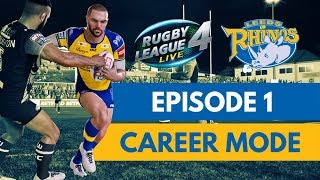 RUGBY LEAGUE LIVE 4 | RHINOS CAREER MODE #1 | SEASON OPENER!
