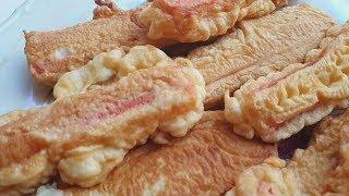 КРАБОВЫЕ ПАЛОЧКИ В КЛЯРЕ. (МИСТЕР КРАБС) Сrab sticks in dough  recipe
