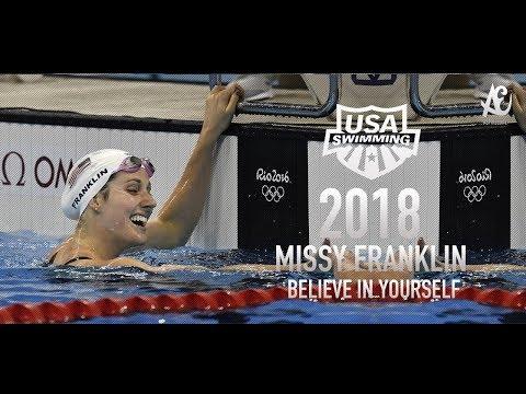 Missy Franklin ● Believe In Yourself | Motivational Video | 2018 - HD