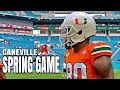 Spring Game  - Miami Hurricanes Football pre game live