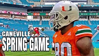 Spring game  - miami hurricanes football pre game live