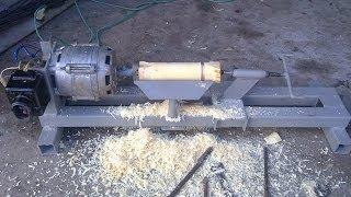Саморобний токарний верстат по дереву. Випробовування(Перше випробовування пройшло вдало., 2013-11-09T13:13:28.000Z)