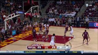Men's Basketball: USC 75, Montana 61 - Highlights 11/11/16