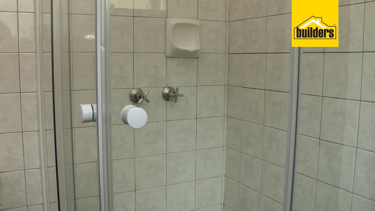 How To Install A Corner Shower Door Youtube