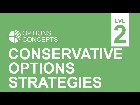 Conservative Options Strategies: Covered Calls, Protective Puts & Collars