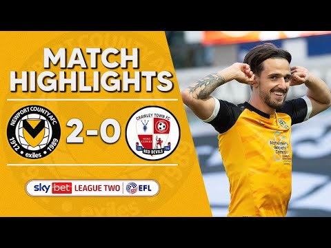 Newport Crawley Town Goals And Highlights