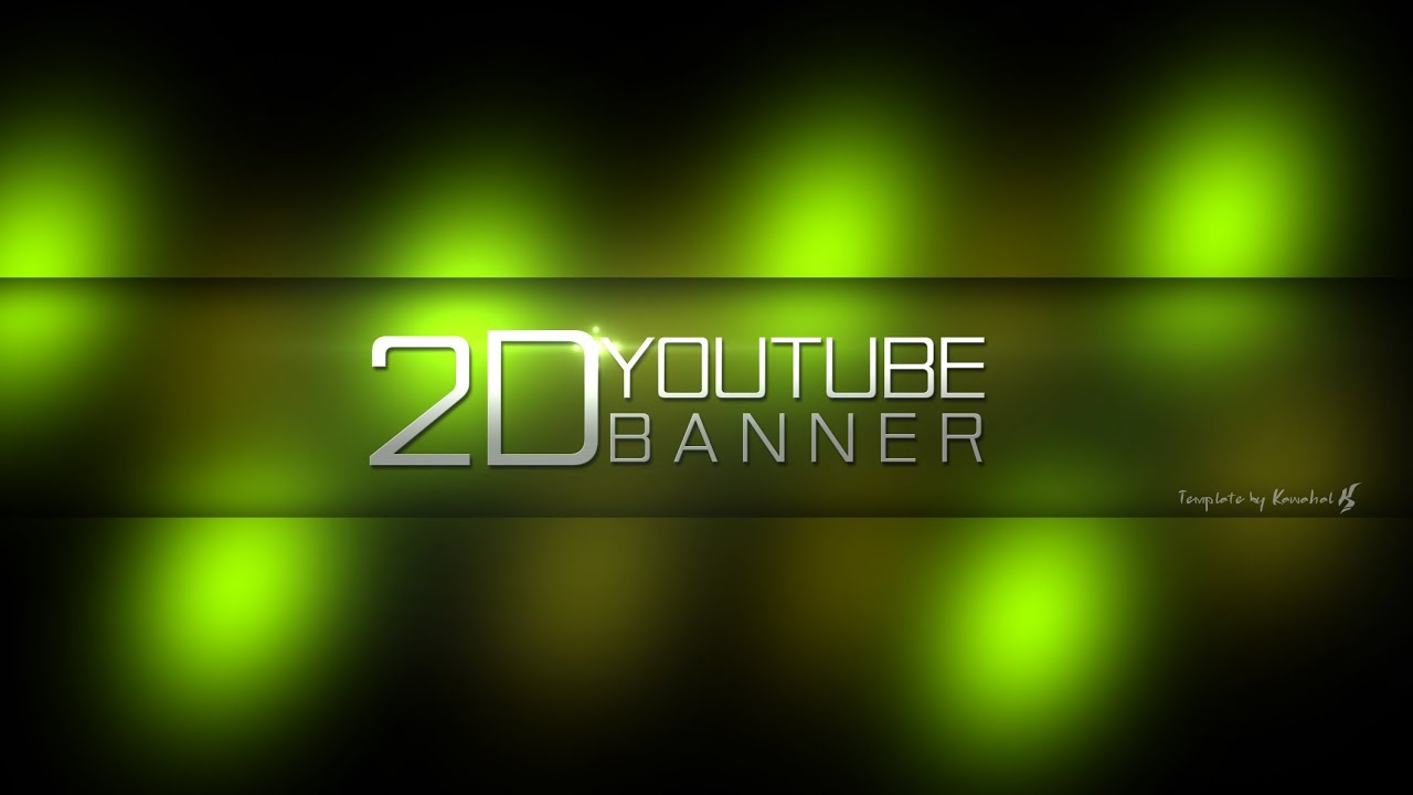 Banner Template Psd. youtube banner template free download psd ...