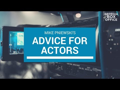 Tips For Actors With Mike Pniewski