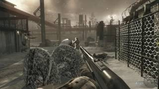 Call of Duty 7 Black ops gameplay Mision  Vorkuta , Crazy Player