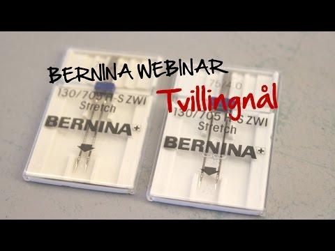 BERNINA Webinar: Tvillingnål