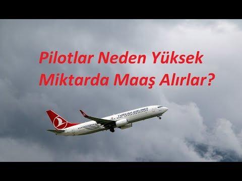 Havayolu Pilotları Neden Yüksek Miktarda...