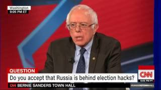 "Bernie Sanders: Evidence of Russian Hacking+Election Interference ""Overwhelming"""