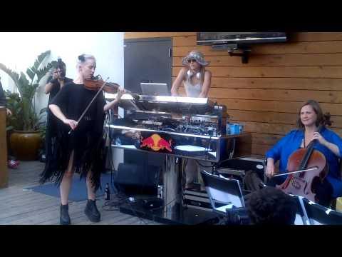 DJ Mia Moretti and Caitlin Moe @ SXSW
