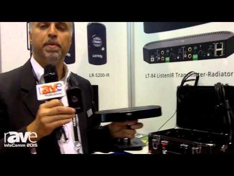 InfoComm 2015: Listen Technologies Highlights the New LT-84 ListenIR Transmitter-Radiator