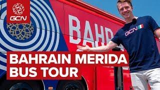 Bahrain-Merida's Cycling Team Bus Tour