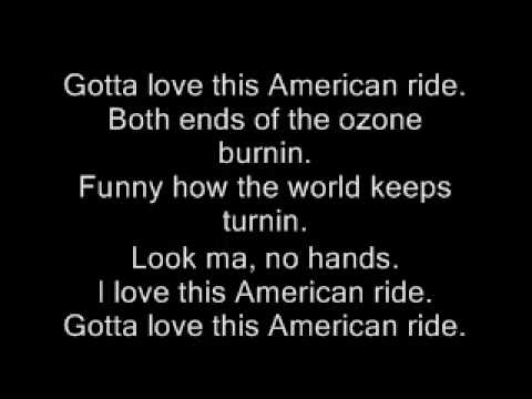 American Ride - Toby Keith - Lyrics