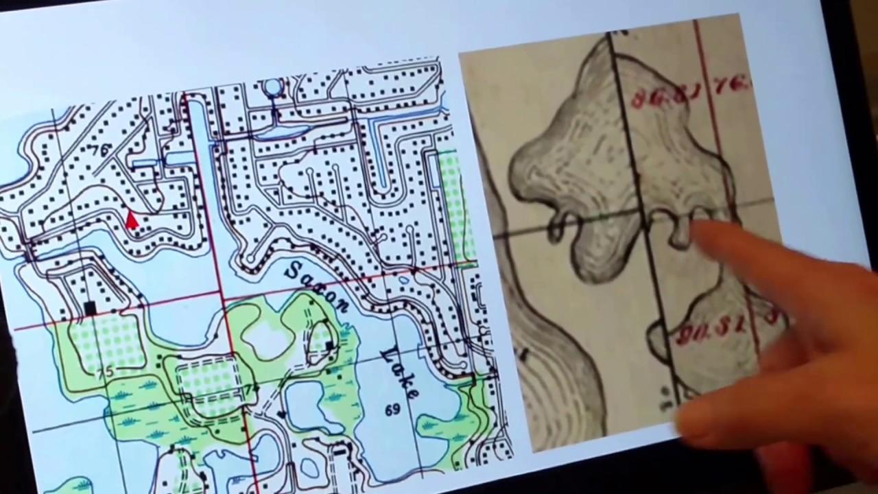 Historic Maps Drones Tell Story Of Pasco Sinkhole Scene Youtube