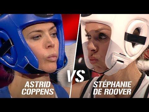 Stéphanie De Roover vs Astrid Coppens  Boxing Stars