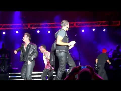 Backstreet Boys - Get Down feat. Donnie Wahlberg (LMFAO Party Rock Shuffle) MixTape Fest Hershey HD