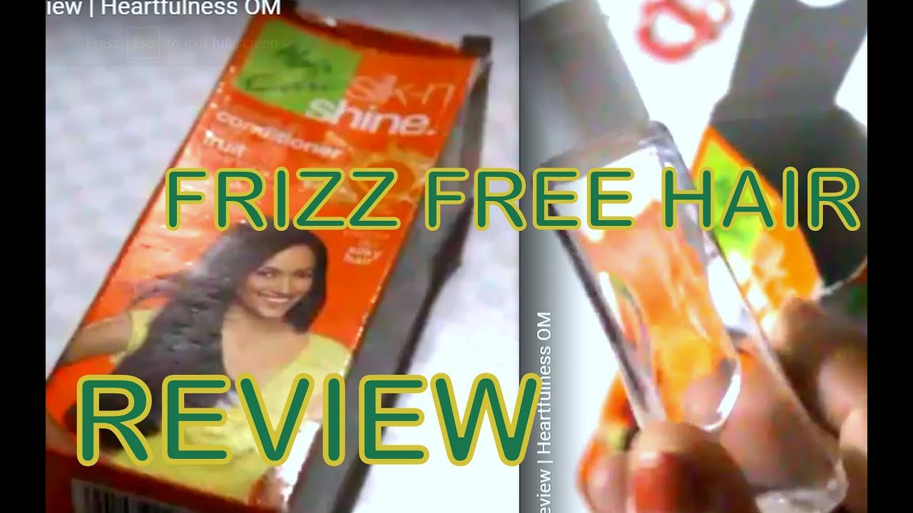 Hair Care Silk N Shine Leave In Conditioner Review Heartfulness Om Youtube
