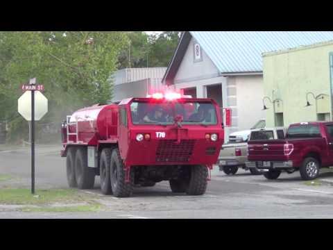 Folkston Volunteer Fire Dept. gets A Call.