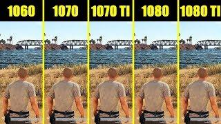 PUBG Full Release 1080 ti vs 1080 vs 1070