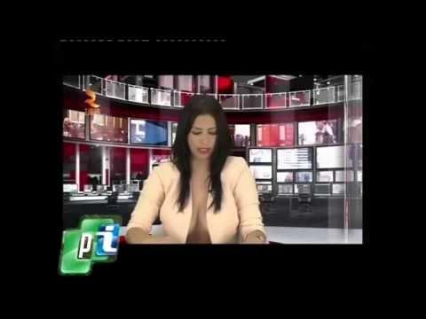 Albania: Ganó un casting para conducir un informativo de TV.-