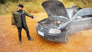ESTRAGUEI O CARRO DO MEU PAI (FUNDIU O MOTOR)