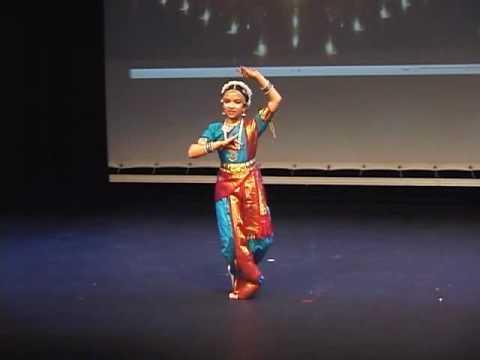Josi performing saraswati vandana.avi