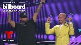 X de J Balvin y Nicky Jam gana Cancion del Ano Airplay Premios Billboard 2019