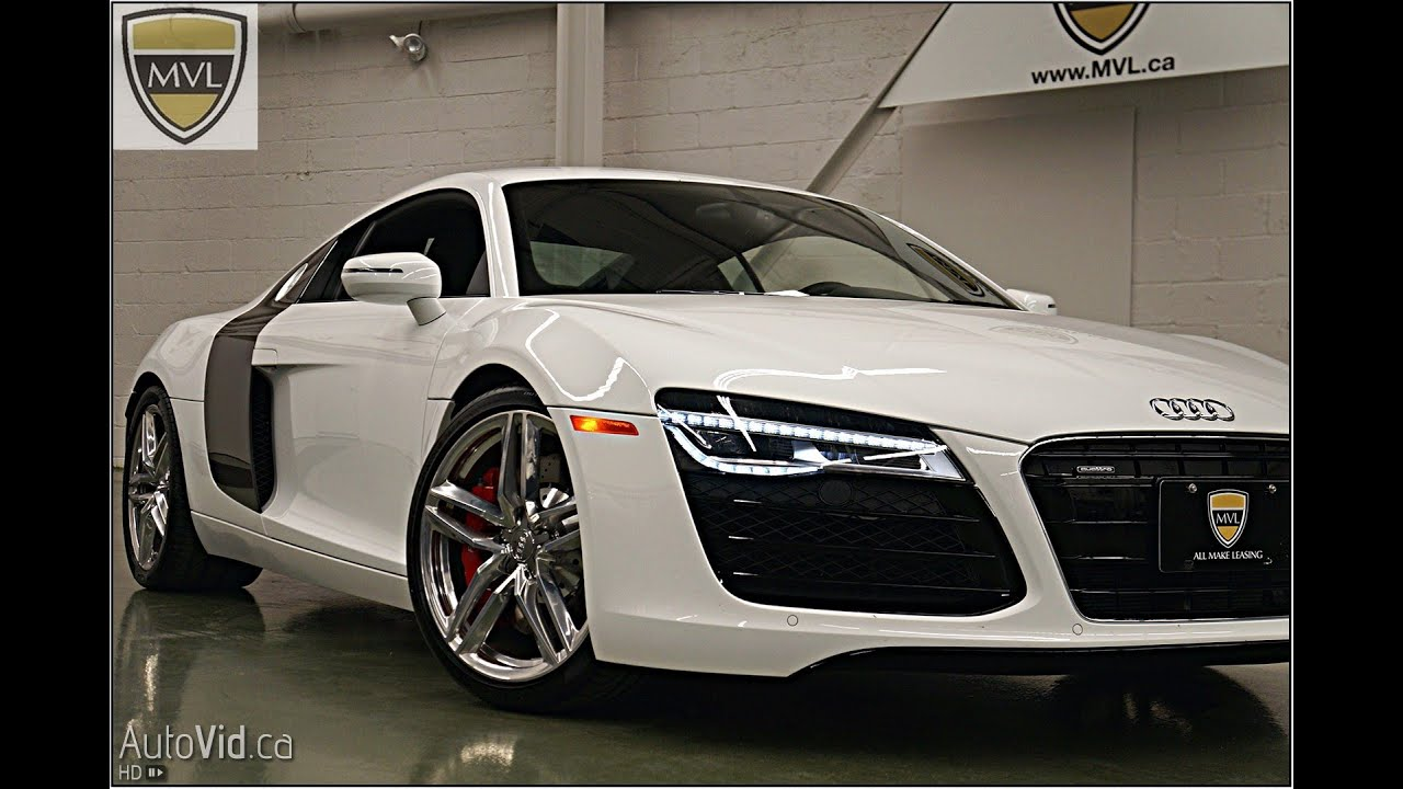 Audi R MVL Leasingcom Toronto Exotics YouTube - Audi r8 lease