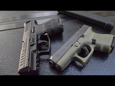 Glock 26 vs Hk VP9sk...The Better Overall Gun Is...