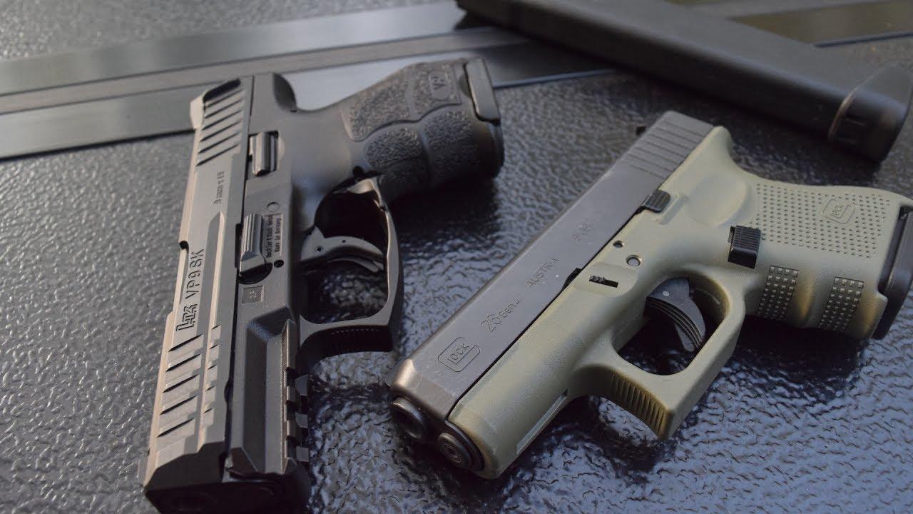 Glock 26 vs Hk VP9sk   The Better Overall Gun Is