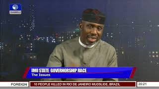 I Remain Imo APC Governorship Candidate, Nwosu Insists Pt.1   Sunday Politics  