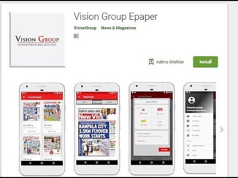 How To Download The Vision Group Epaper App