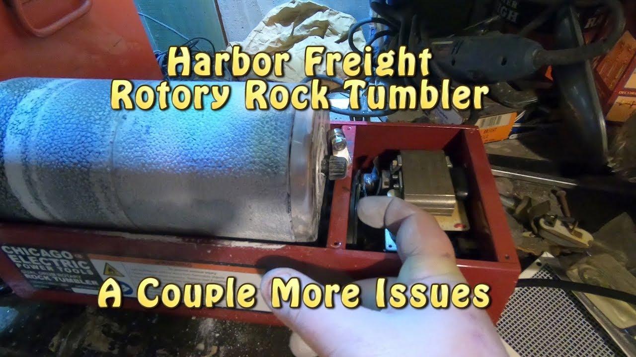 Metal Harbor Freight Tumbler