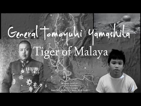 Biography of Tomoyuki Yamashita — The Tiger of Malaya: Full Documentary