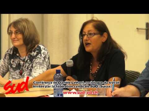 Ce travail qui fait mal : conférence de Danièle Linhart