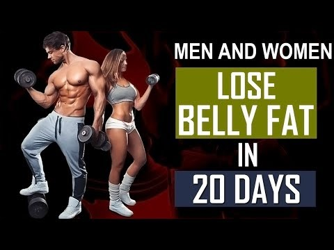 How To Lose Belly Fat Men And Women In 20 Days | 5 Tips To Burn Belly Fat In Hindi