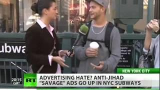 Islamophobic ads come to NYC subway