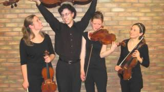 "Jeremy Crosmer - String Quartet No. 3, ""Mathematica"", Prelude"